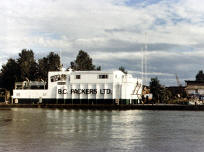 BC Packers Ice Barge by naval architects A G McIlwain Ltd