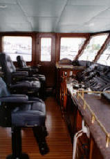 Carefull consultation ensures a functional wheelhouse
