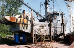 My Lady Jane, one of many fishing vessels designed by AGM