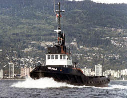 Paracus, one of four sister tugs