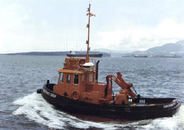 Sea tow boat Sandpoint Chief