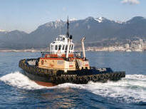 Tug Tiger Sun in Vancouver Harbour